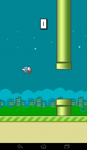 Navigating Flappy Bird is like navigating social media