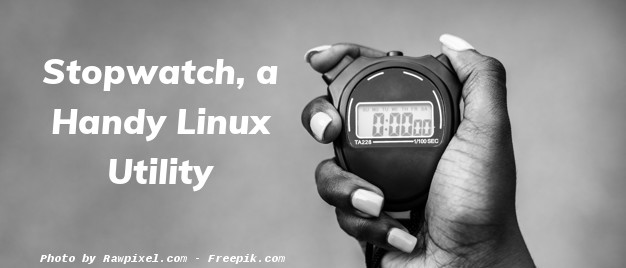Stopwatch, a Handy Linux Utility